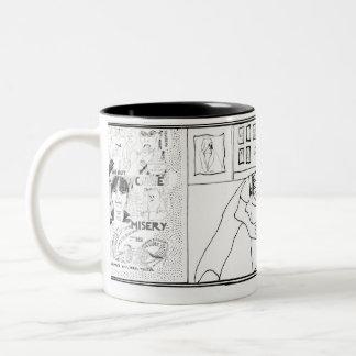 Golden welcome Two-Tone coffee mug