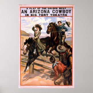 Golden West Cowboy Theatre Poster