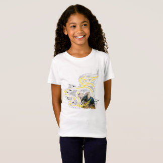 Golden wind and flower dust T-Shirt