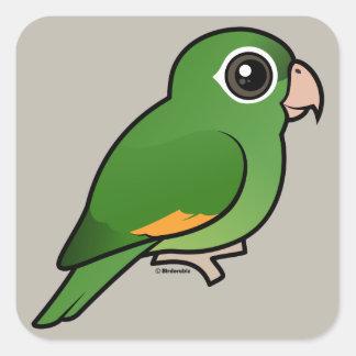Golden-winged Parakeet Square Sticker