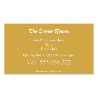 Golden Winged Scarab Pack Of Standard Business Cards
