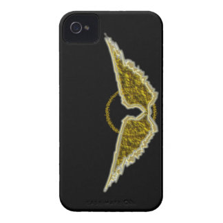Golden wings with halo Case-Mate iPhone 4 cases