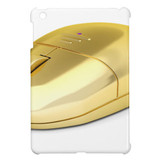 Golden wireless mouse case for the iPad mini