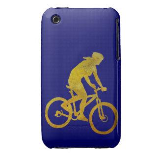Golden Woman Biker Case-Mate iPhone 3 Case