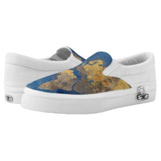 Golden World Slip-On Sneakers
