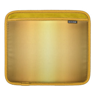 Golden Yellow Abstract, iPad Mini Horizontal Case