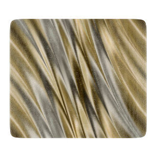 Golden yellow and silver grey stripes cutting boards