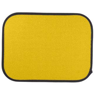 """""""Golden Yellow"""" Car Mat"""