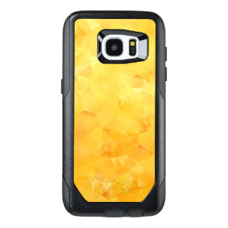 Golden Yellow Crystal Facets OtterBox Samsung Galaxy S7 Edge Case