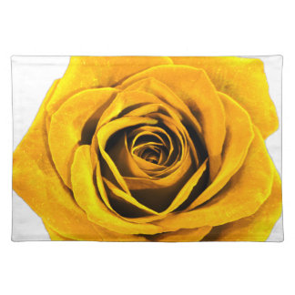 Golden Yellow Rose 20171027b Placemat