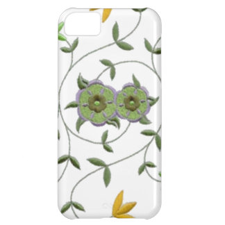Golden Yellow Sage Spring Flower Garden Cover For iPhone 5C