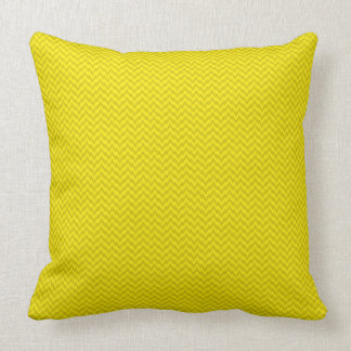 Golden Yellow Solid Color Decorative Pillow
