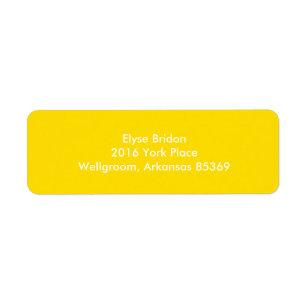 Golden Yellow Top Colour Coordinating