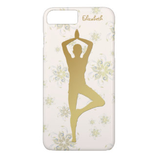 Golden Yoga Meditation Phone Case