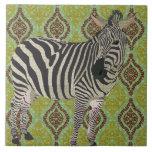 Golden Zebra Tile