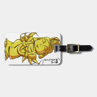 Golden Zizou it accomplishes and pulls out i! Luggage Tag