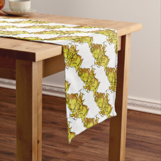 Golden Zizou it accomplishes and pulls out i! Short Table Runner