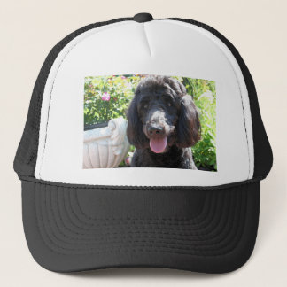 GoldenDoodle Abby 1 Trucker Hat