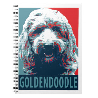 GOLDENDOODLE by Hope Dogs Notebooks