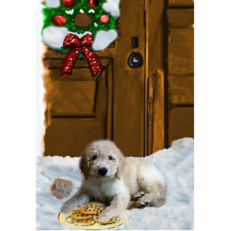 Goldendoodle Christmas Ornament Photo Sculpture Ornament