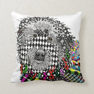 Goldendoodle Decorative Pillow