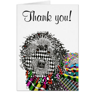Goldendoodle Greeting Card (You can Customize)