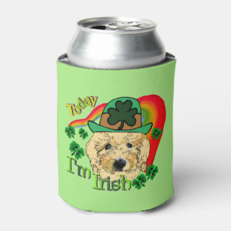 Goldendoodle St Patricks Day Gifts Can Cooler