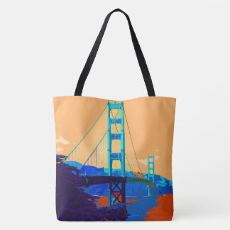 GoldenGateBridge_20170101_by_JAMFoto Tote Bag