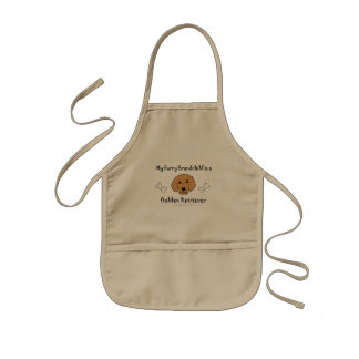 GoldenRetriever Kids Apron