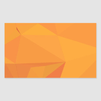 Goldenrod Yellow Abstract Low Polygon Background Sticker