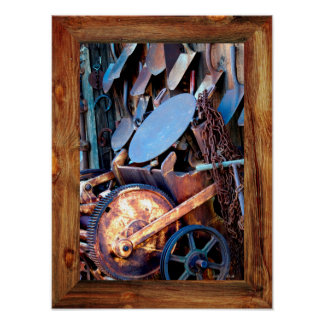 Goldfield Old West Town - Shovels II Poster