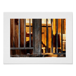 Goldfield Old West Town - The Porch Poster