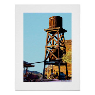 Goldfield Old West Town - The Water Tower Poster
