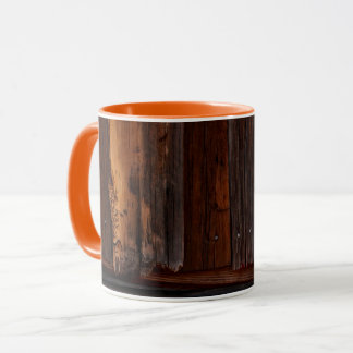 Goldfield Old West Wood Grain mug