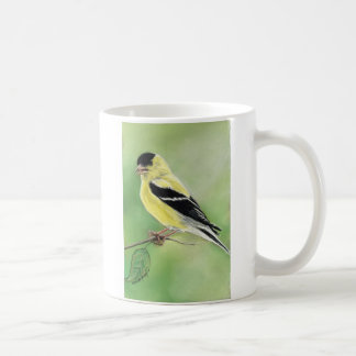"""Goldfinch Bird Art Mug"