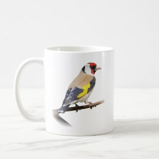 Goldfinch bird coffee mug