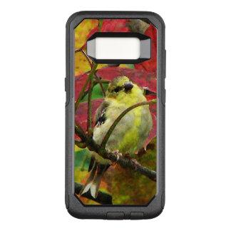 Goldfinch Bird in Autumn OtterBox Galaxy S8 Case