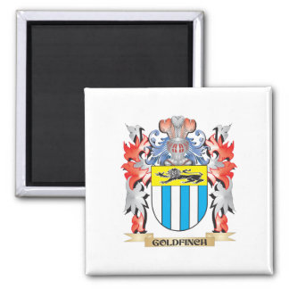 Goldfinch Coat of Arms - Family Crest Magnet