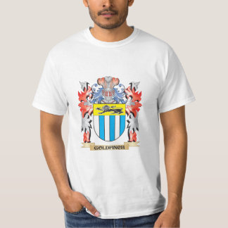 Goldfinch Coat of Arms - Family Crest T-Shirt