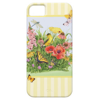 Goldfinch Garden iPhone 5 Covers