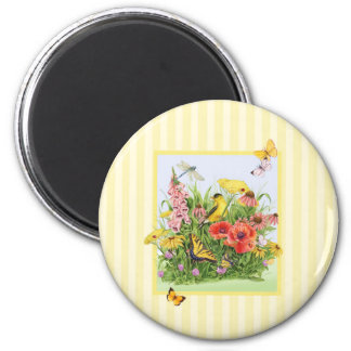 Goldfinch Garden Magnet