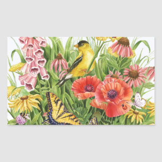 Goldfinch Garden Sticker