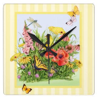 Goldfinch Garden Wall Clock