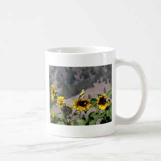Goldfinch in the Sunflower patch Coffee Mug