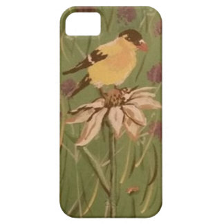 goldfinch iPhone 5 cover