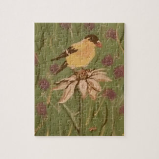 goldfinch jigsaw puzzle