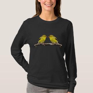 Goldfinch Love Birds T-Shirt