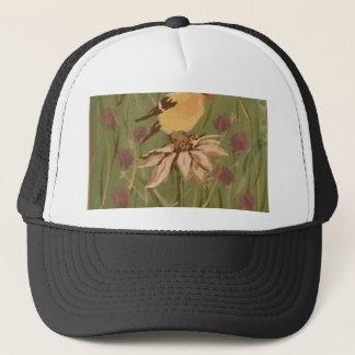 goldfinch trucker hat