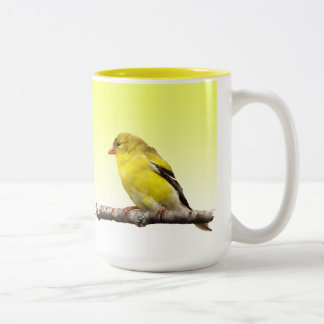 Goldfinch Two-Tone Coffee Mug