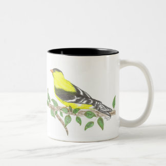Goldfinch Two-Tone Mug